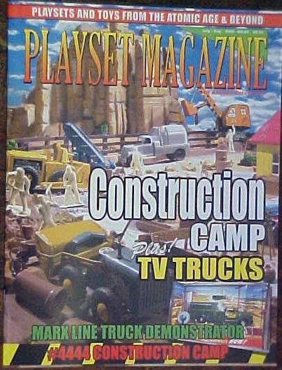 Playset Magazine issue #28 ''MARX Constructions sets and New Products Review''