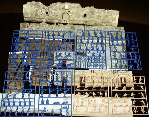 Alamo Playset -- 145+ pieces (612) <FONT COLOR=#CC0000>(25mm) </FONT>