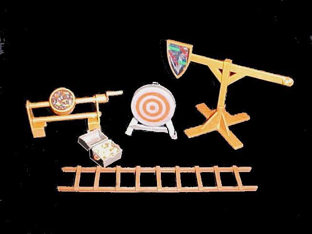 Medieval Accessories -- 5 pieces <FONT COLOR=#CC0000>(54mm) </FONT>