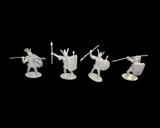Roman Allies 16 figures in 4 poses (9040) <FONT COLOR=#CC0000>(54mm) </FONT>