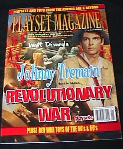 Playset Magazine issue #39 Marx and other  Rev War playsets and figures