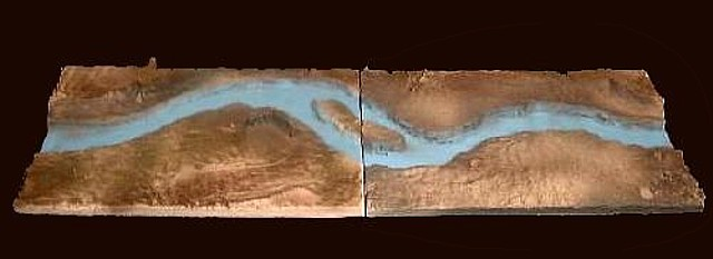 Antietam River Bed (44''L x 14''W)  <font color=#CC0000>(54mm) </FONT>