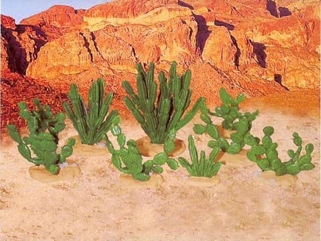 Cactus set #1 (6507) <FONT COLOR=#CC0000>(54mm) </FONT>
