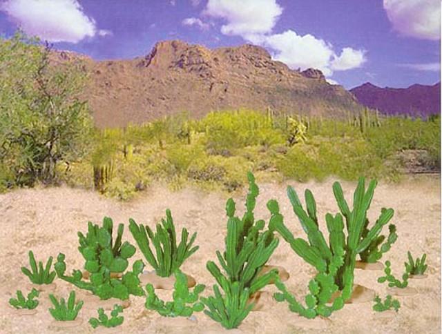 Cactus set #2 (6508) <FONT COLOR=#CC0000>(54mm) </FONT>