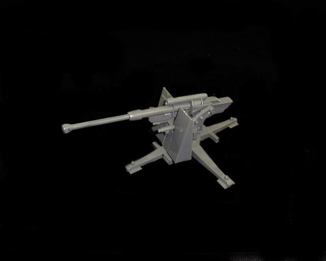 German 88mm with elevating barrel (gray)  <font color=#CC0000>(54mm) </FONT>
