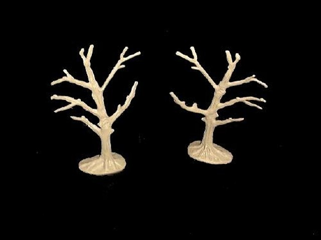 Dead Tree (tan) 2 in 1 pose <FONT COLOR=#CC0000>(54mm) </FONT>