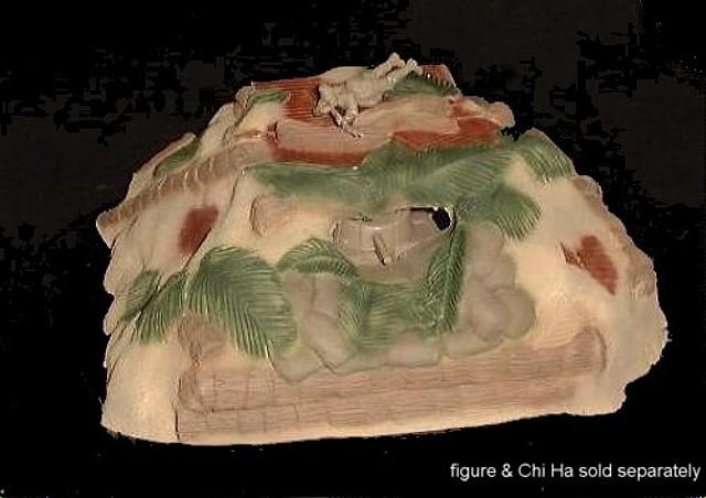 Japanese Buried Chi Ha Tank Position (painted) (9''L x 8''W x 4''H) <FONT COLOR=#CC0000>(54mm) </FONT>
