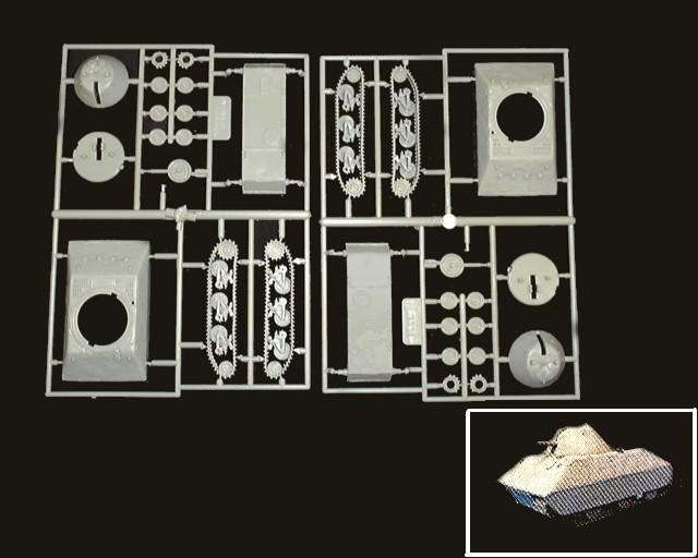 German Jaguarundi Tank (experimental) (x2) (7606) <FONT COLOR=#CC0000>(25mm) </FONT>