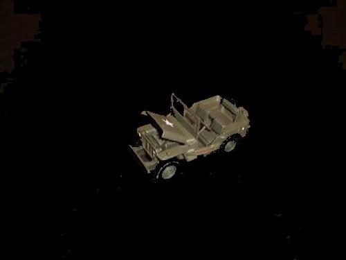 American Jeep  (green)  <font color=#CC0000>(54mm) </FONT>