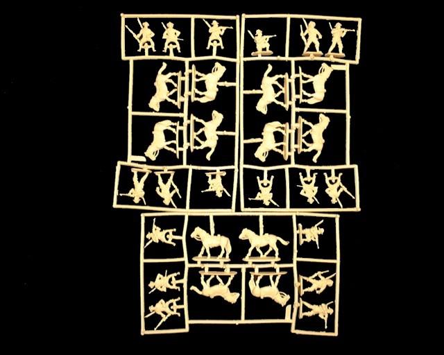 Natal Native Horse Zulu Wars -- 30 pieces (8182) <FONT COLOR=#CC0000>(25mm) </FONT>