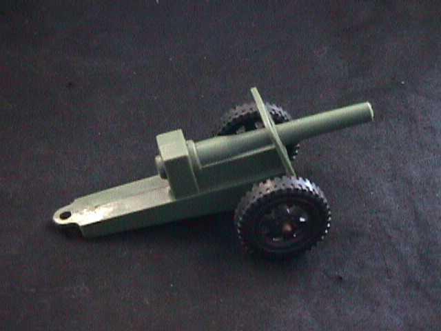 original Timmee Toy WWII field gun,cannon