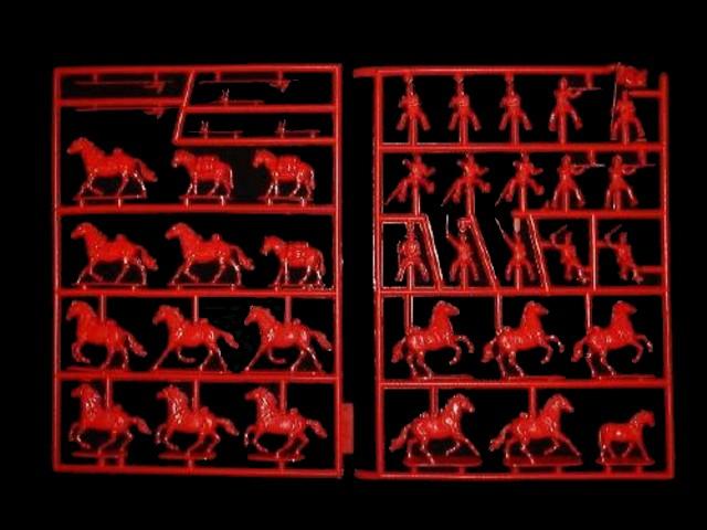 Mexican Cavalry -- 39 pieces (515)  <font color=#CC0000>(25mm) </FONT>