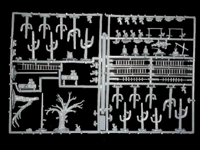 Alamo Accessories -- 70  pieces (533) <font color=#CC0000>(25mm) </FONT>