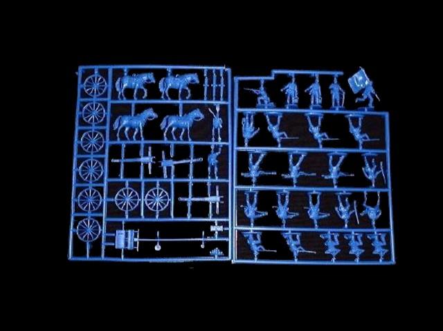 Union Artillery -- 46 pieces  (501)  <font color=#CC0000>(25mm) </FONT>