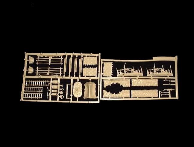 Battle Field Accessories -- 37 pieces  (519)  <font color=#CC0000>(25mm) </FONT>