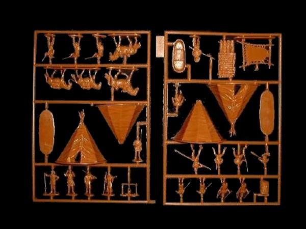 Lewis and Clark -- 32 pieces (523) <font color=#CC0000>(25mm) </FONT>