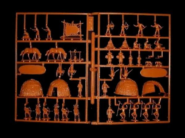 Eastern Friendly Indians -- 47 pieces (522) <font color=#CC0000>(25mm) </FONT>
