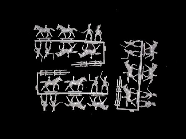 French Horse Grenadiers -- 36 pieces (8013)   <font color=#CC0000>(25mm) </FONT>