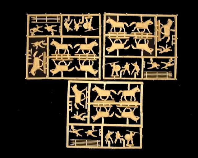 Parthian Heavy Cavalry -- 54 pieces (8145) <FONT COLOR=#CC0000>(25mm) </FONT>