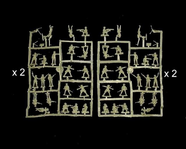 WWI Canadian Infantry --- 100 pieces (8111) <FONT COLOR=#CC0000>(25mm) </FONT>