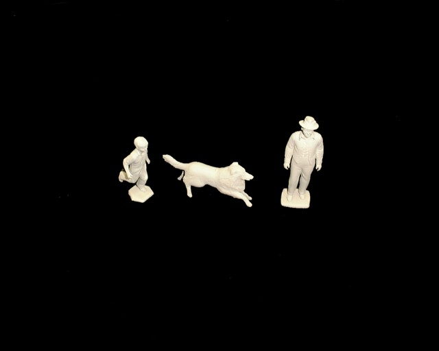 Farm Family -- Lassie, Jeff and Gramps 3 figures in 3 poses <FONT COLOR=#CC0000>(54mm) </FONT>