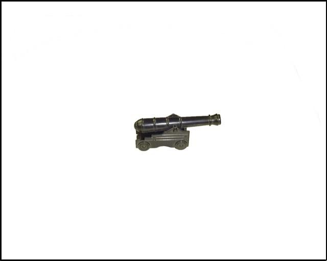 Naval Fort cannon (black)  <font color=#CC0000>(54mm) </FONT>