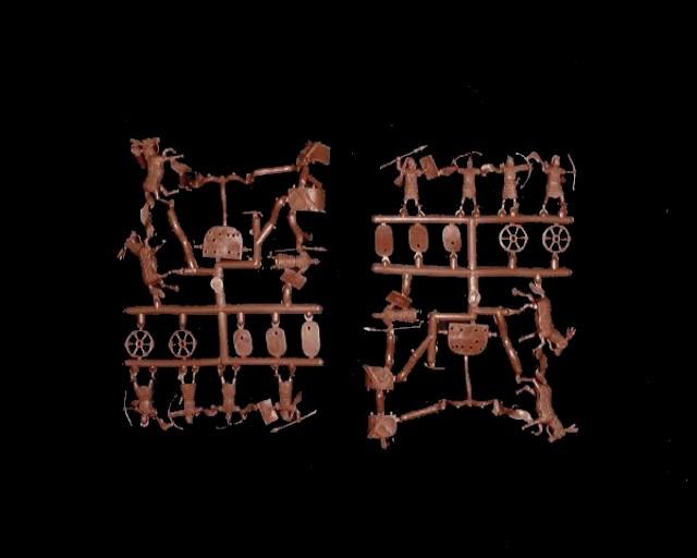 Biblical Mitannian Chariots -- 30 pieces (015) <FONT COLOR=#CC0000>(25mm) </FONT>