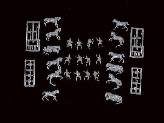 Saladin w/Saracen Cavalry -- 42 pieces  (CMF018) <font color=#CC0000>(25mm) </FONT>