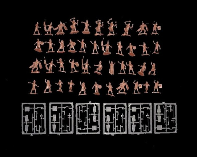 Inca Warriors -- 91 pieces (026) <FONT COLOR=#CC0000>(25mm) </FONT>
