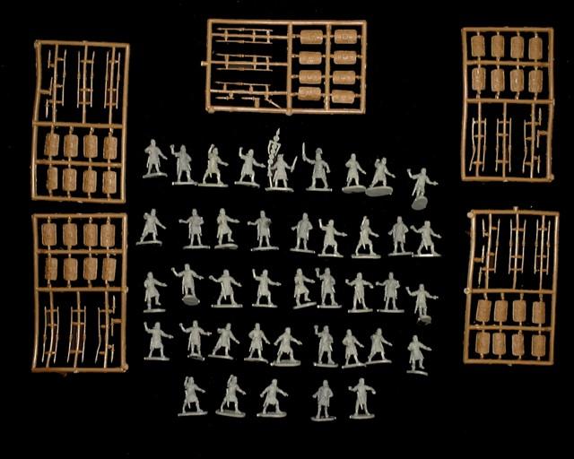 Roman Legionary -- 120 pieces  (041) <FONT COLOR=#CC0000>(25mm) </FONT>