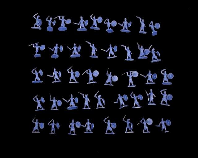 The Sea Peoples -- 42 pieces (048) <FONT COLOR=#CC0000>(25mm) </FONT>