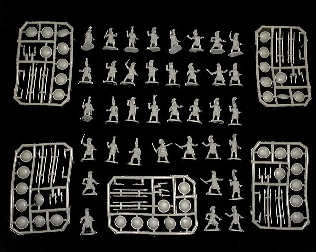 Greek Hoplite Infantry  -- 121 pieces (065) <FONT COLOR=#CC0000>(25mm) </FONT>