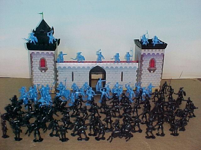 Castle Keep Siege -- 155 pieces  <FONT COLOR=#CC0000>(54mm) </FONT>