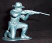 Marx US 7th cavalry,Rin Tin Tin,Fort Apache 60mm kneeling firing rifle(original)