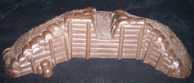 MARX Redoubt Cannon Emplacement (original) (dark brown)  <font color=#CC0000>(54mm) </FONT>