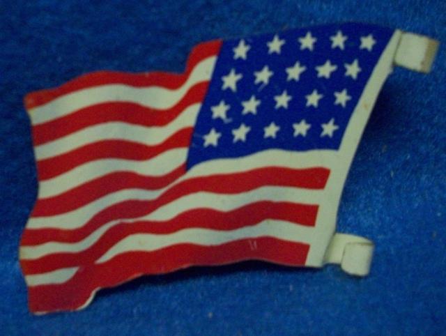 Marx original tin litho American 20 star flag