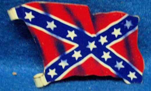 Marx original tin litho Confederate flag