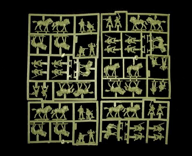 Australian Light Horse Cavalry -- 63 pieces  (8153)  <FONT COLOR=#CC0000>(25mm) </FONT>