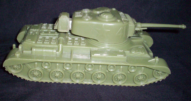 MARX American #41 tank (original) (green)  <font color=#CC0000>(54mm) </FONT>