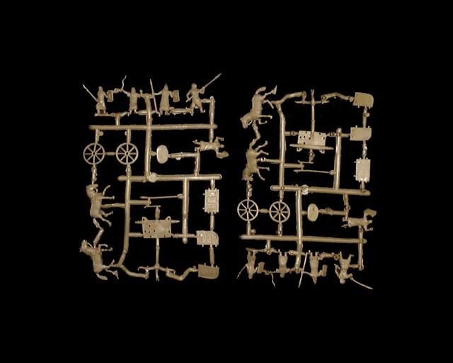 Biblical Hittite Chariots -- 32 pieces (012) <FONT COLOR=#CC0000>(25mm) </FONT>