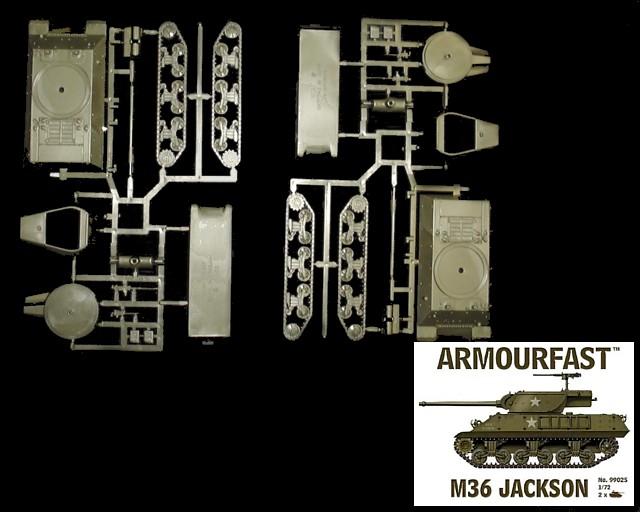 US M36 Jackson (x2)  (99025) <FONT COLOR=#CC0000>(25mm) </FONT>