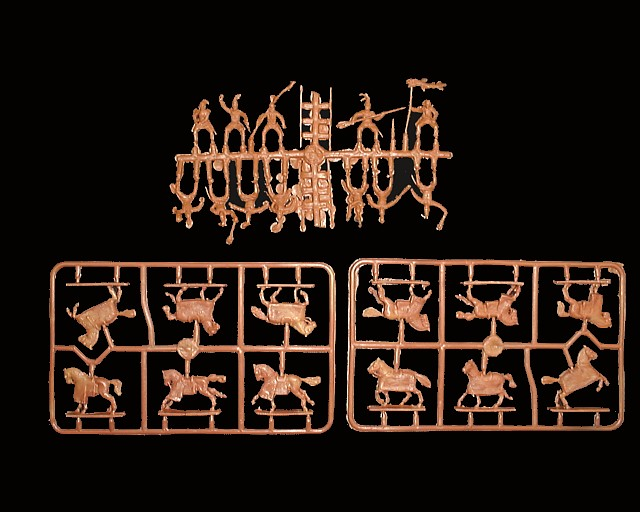 Parthian Heavy Cavalry Cavalry -- 29 pieces (72021) <font color=#CC0000>(25mm) </FONT>