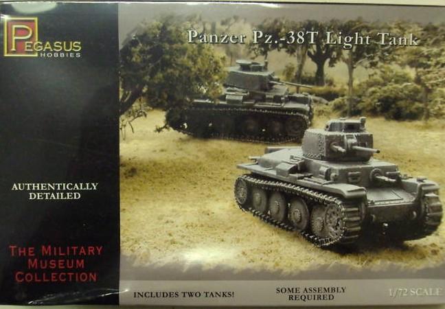 German Pz38(t) (x2) (7620) <FONT COLOR=#CC0000>(25mm) </FONT>