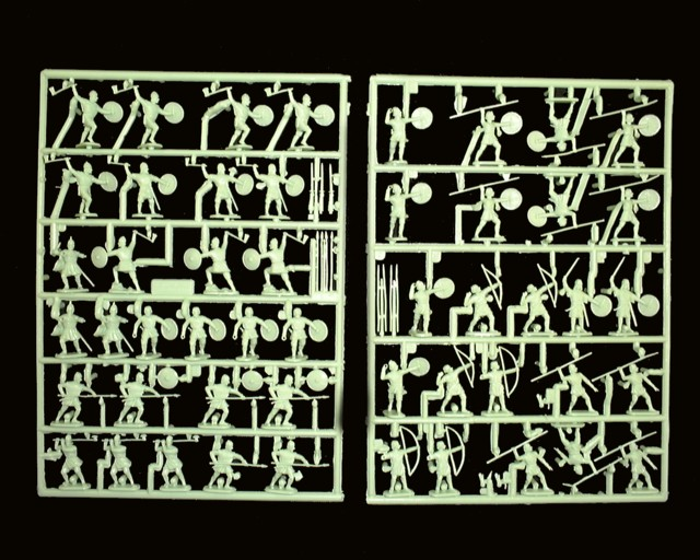 Saxon Warriors -- 66 pieces (7206) <FONT COLOR=#CC0000>(25mm) </FONT>