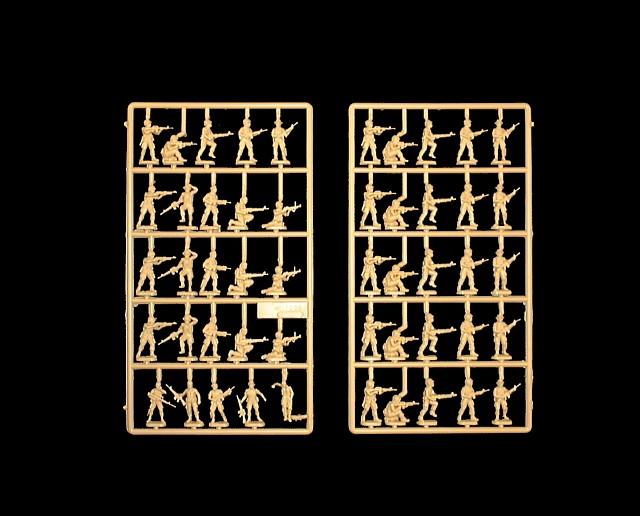 Vietnam US Special Forces -- 50 pieces (6078) <FONT COLOR=#CC0000>(25mm) </FONT>