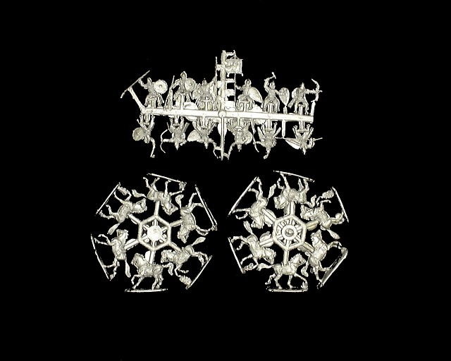 Russian Mounted Knight -- 24 pieces (72033) <FONT COLOR=#CC0000>(25mm) </FONT>