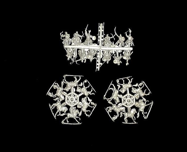 Cumans and Pechenegs -- 24 pieces (72034) <FONT COLOR=#CC0000>(25mm) </FONT>