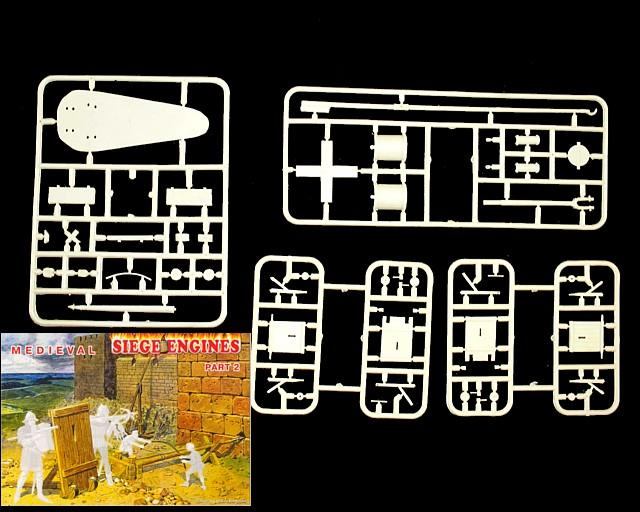 Medieval Siege Engines  set #2 (72016) <FONT COLOR=#CC0000>(25mm) </FONT>