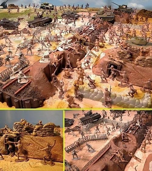 Battle of Kursk --- 200 pieces --- (s&h $45) <FONT COLOR=#CC0000>(54mm) </FONT>