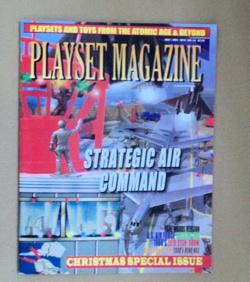 Playset Magazine #54-Marx Strategic Air Command playset+more